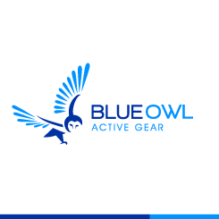logo design Blue Owl Active Gear
