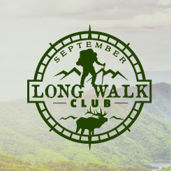 logo design September Long Walk Club