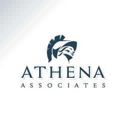 conception de logo Athena Associates