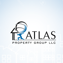 conception de logo Atlas Property Group