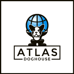 conception de logo Atlas Doghouse