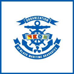 logo design Organization of Black Maritime