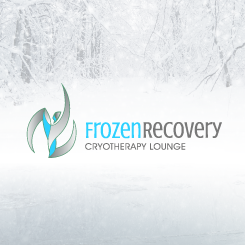 logo design Frozen Recovery Cryotherapy