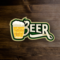logo design BEER
