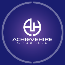 Logo Design Achievehire Group, LLC