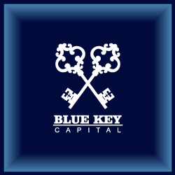 Logo Design Blue Key Capital