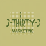 Logo Design 3-Thirty-3 Marketing