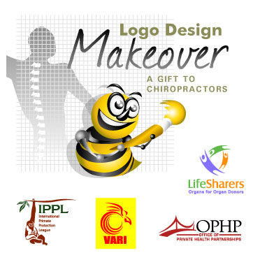 Logo Design Makeover For Chiropractic Companies