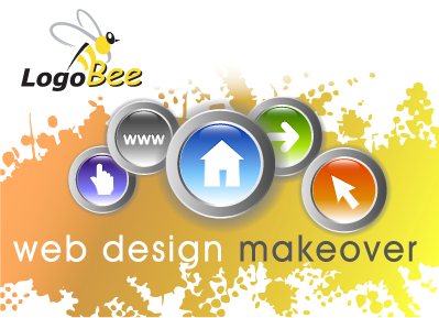 Web Design Makeover by LogoBee
