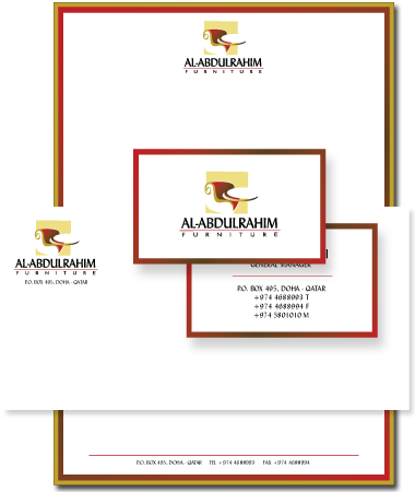 Stationery Design Al-Abdulrahim Furniture