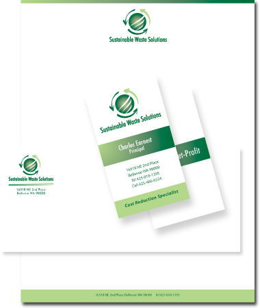 letterhead and logo design: