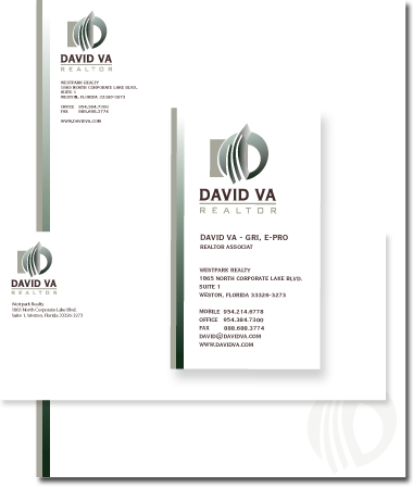 Stationery Design David Va Realtor