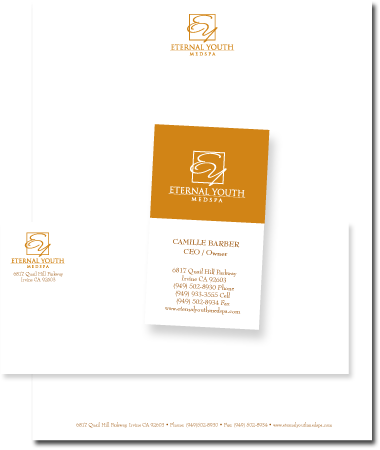 Stationery Design Eternal Youth Medspa