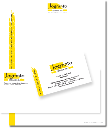 Stationery Design Jogranto