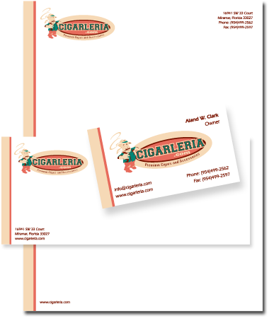Stationery Design Cigarleria