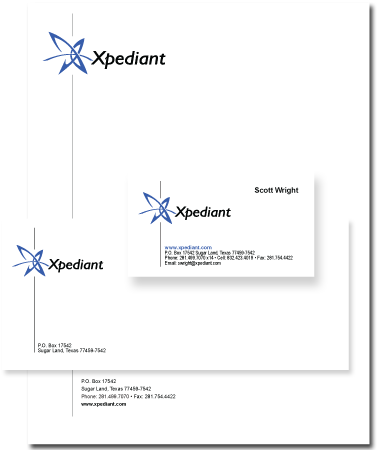 Stationery Design Xpediant