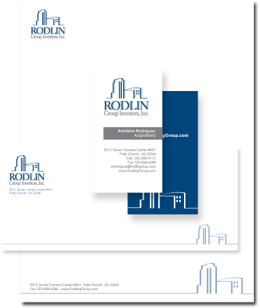 Stationery Design Rodlin Group Investors, Inc.