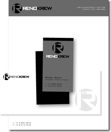 Stationery Design Renokrew