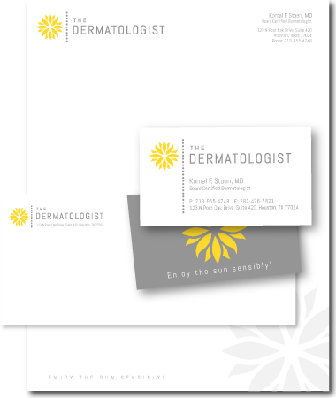 Stationery Design The dermatologist