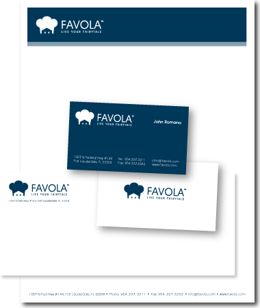 Stationery Design Favola