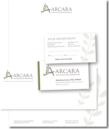 Stationery Design Arcara