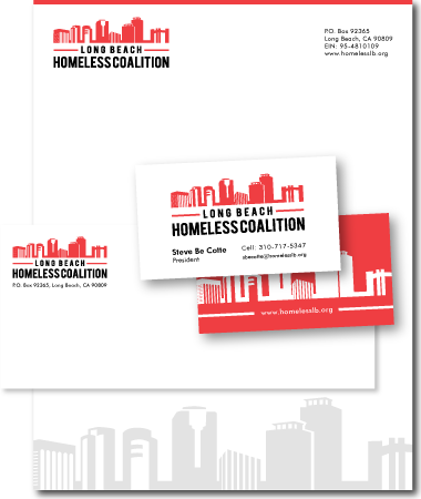Stationery Design Homelesscoalition