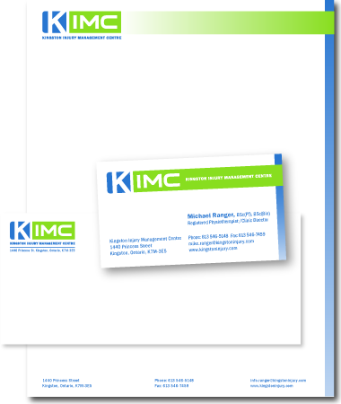 Stationery Design KIMC
