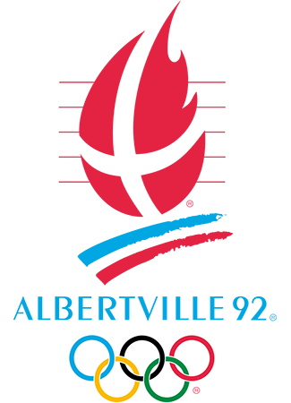 Olympics logo Albertville France 1992 winter