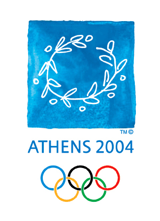 Olympics logo  Athens Greece 2004 summer