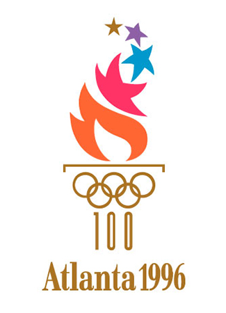 Olympics logo Atlanta USA 1996 summer