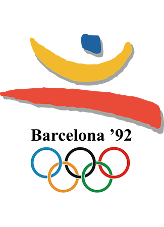 Olympics logo Barcelona Spain 1992 summer