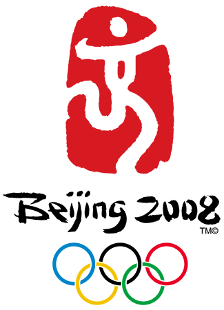 Olympics logo Beijing China 2008 summer