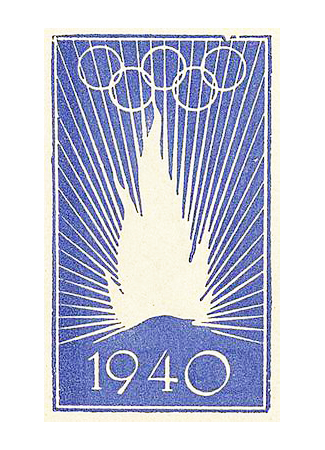 Olympics logo Helsinki, Finland, 1940  winter (canceled)