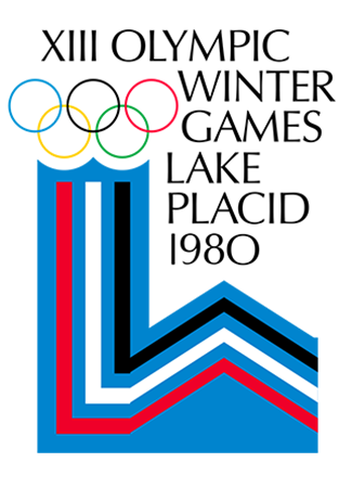 Olympics logo Lake Placid  USA 1980 winter