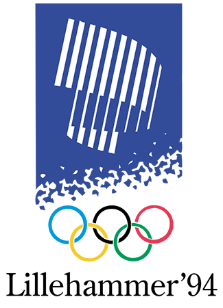 Olympics logo Lillehammer Norway 1994 winter