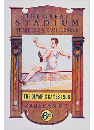 Olympics logo London United Kingdom 1908 summer