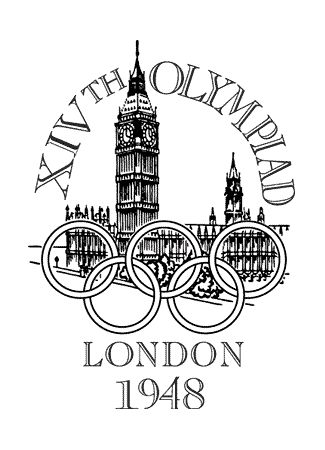 Olympics logo London United Kingdom 1948 summer
