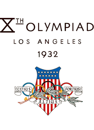 Olympics logo Los Angeles USA 1932 summer
