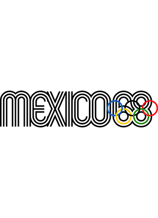 Olympics logo Mexico City Mexico 1968 summer