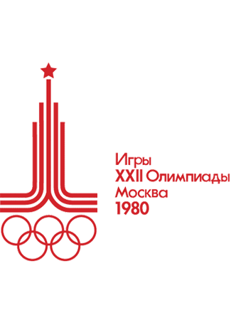 Olympics logo Moscow USSR 1980 summer
