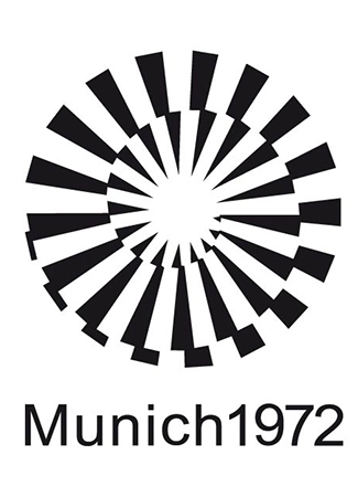 Olympics logo Munich Germany 1972 summer