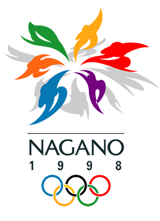 Olympics logo Nagano Japan 1998 winter