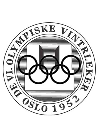 Olympics logo Oslo Norway 1952 summer