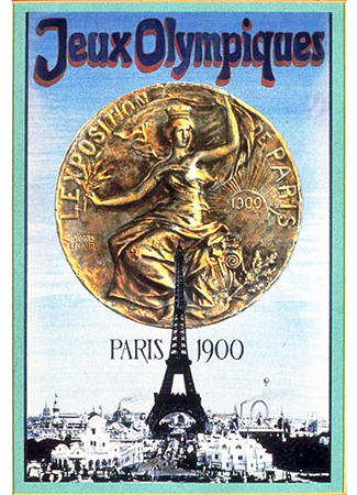 Olympics logo Paris France 1900 summer
