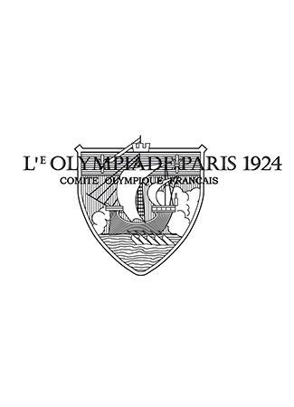 Olympics logo Paris France 1924 summer