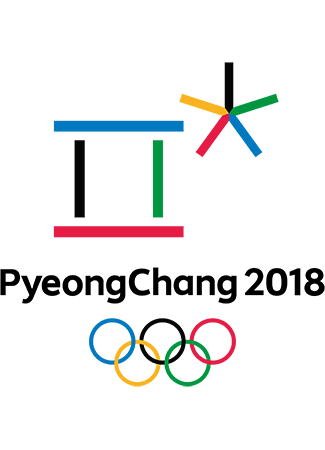 Olympics logo Pyeongchang South Korea 2018 winter