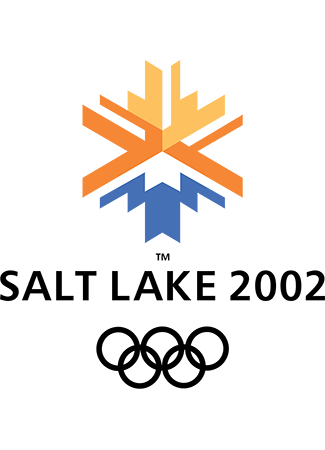 Olympics logo Salt Lake USA 2002 winter