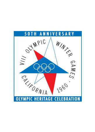 Olympics logo Squaw Valley USA 1960 winter