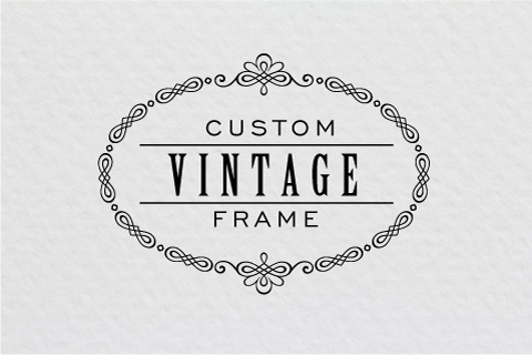 How to create a beautiful vintage frame in Illustrator - Logo Design ...